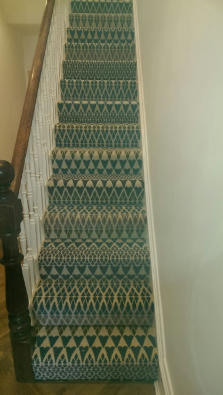 How To Fit A Kitchen >> Quirky B Alternative Flooring carpet to staircase · Kinglsey Carpets Kingsley Carpets