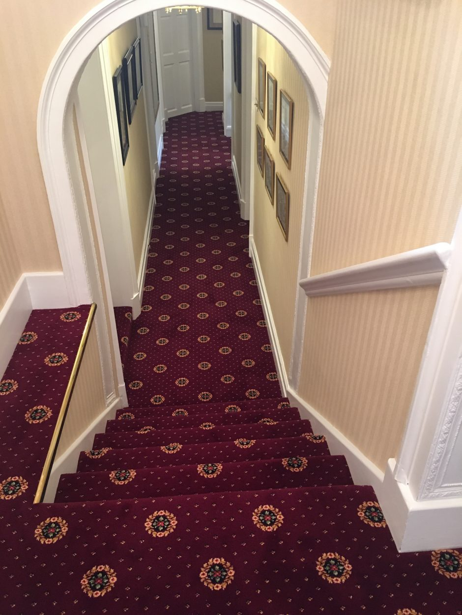 150 Sq Mt Ulster Carpets Sheriden Fitted To Grade 2 Listed